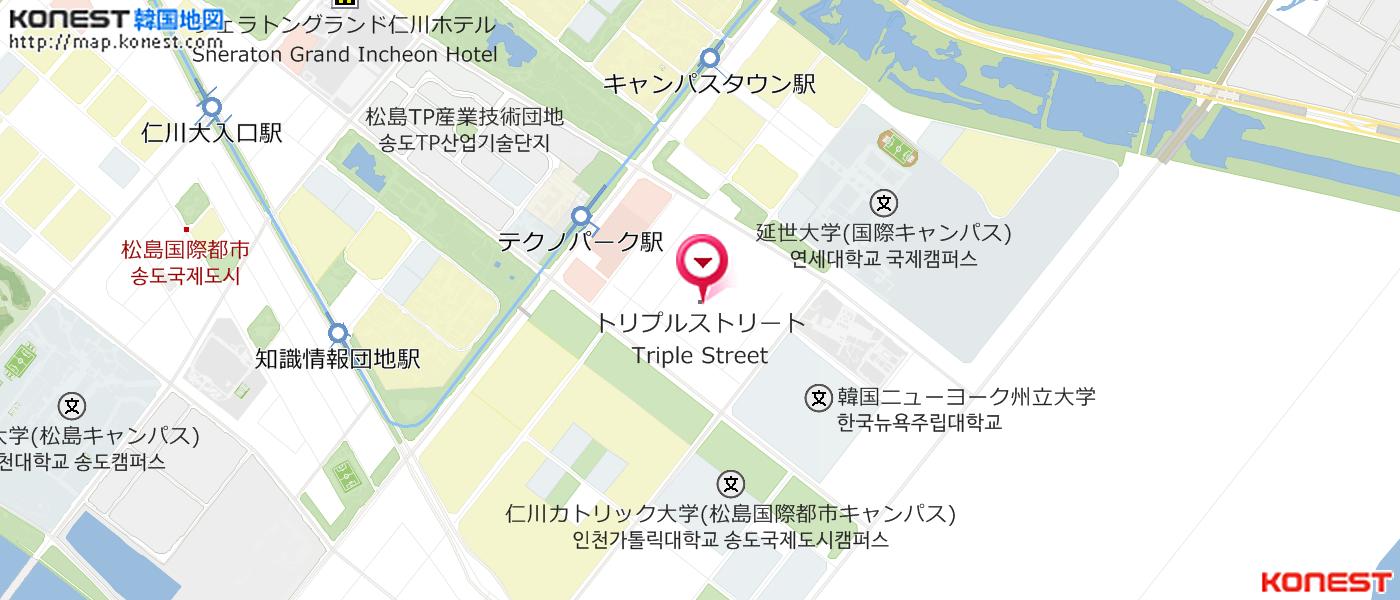 TRIPLE STREET|松島国際都市(仁...