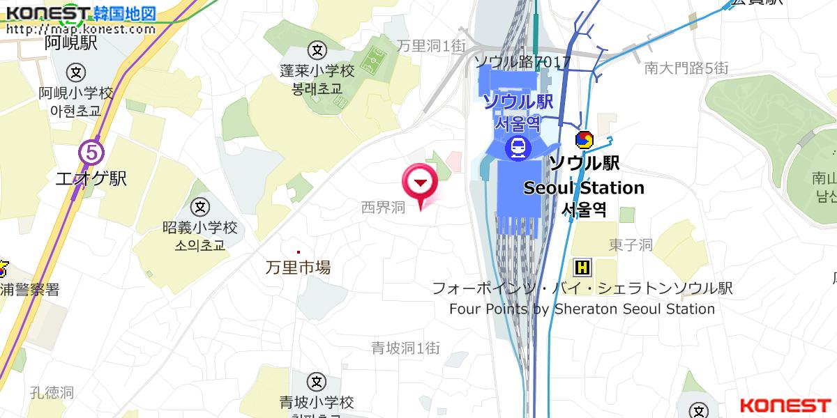 徳洞駅 - Toktong station - JapaneseClass.jp