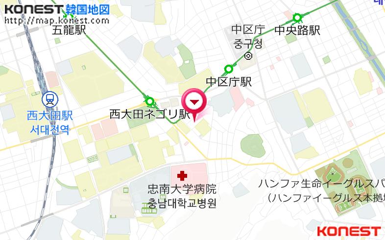 マックホテル(忠清道>大田) 韓国ホテル予約「コネスト」